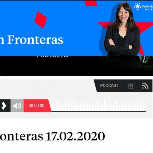 La campaña 'Sahel Vivo' en Onda Madrid